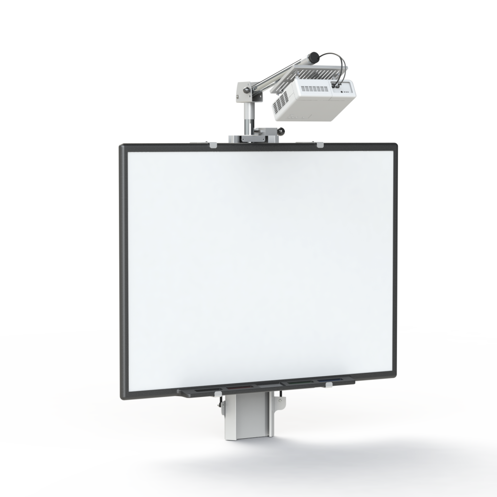 Hi Lo 174 500 Electric Whiteboard Amp Projector Wall To Floor