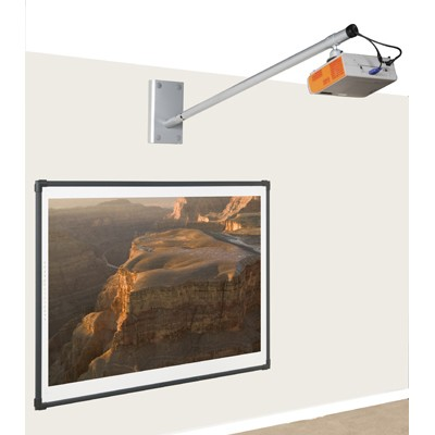 Medium Throw Projector Wall Boom Amp Plate Up To 1500mm
