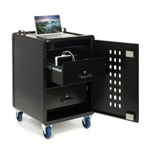 High Security iPad/Tablet Trolley