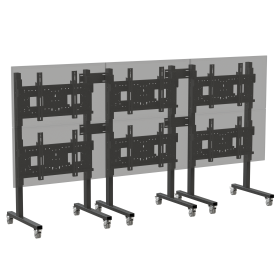 Mobile Video Wall Array Mounts