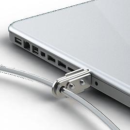 Laptop/Monitor Slotlox, Security Cable and Padlock