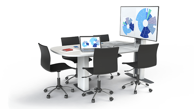 Fixed Height Hive Desk - Loxit Limited